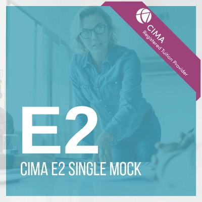 CIMA E2 Single Mock 2019